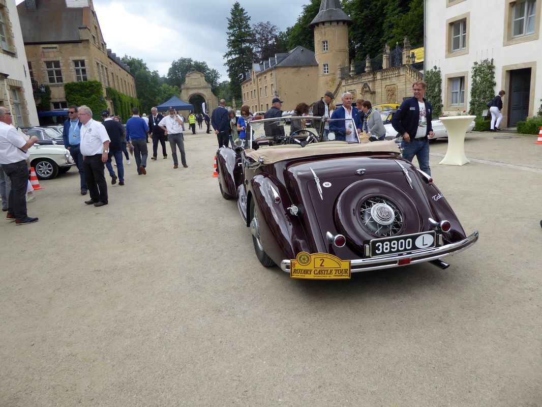 Rotary Castle Tour 2016
